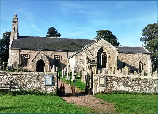 St Cuthbert's Church here in Elsdon is one of the 18 churches being supported by the Inspired Futures project